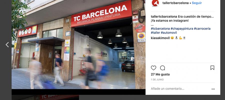 TC Barcelona Instagram